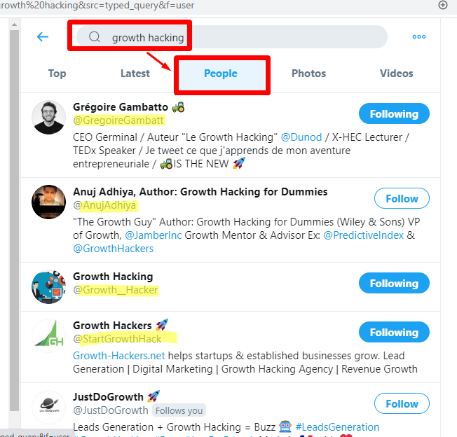 Find influencers for twitter auto follow