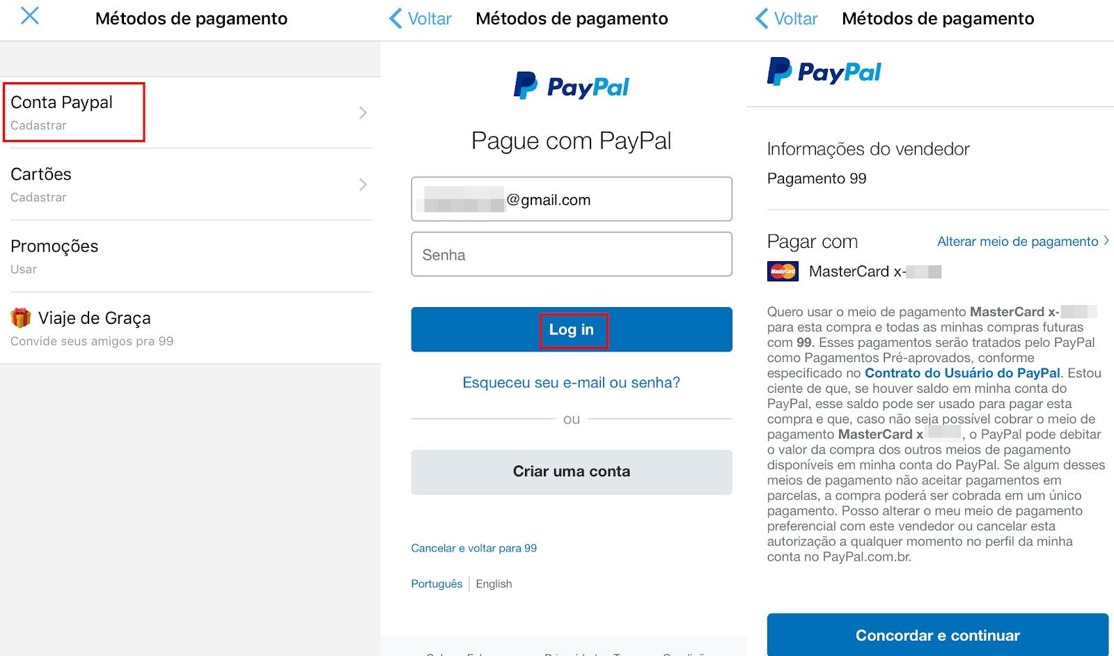 Aprenda a cadastrar cartão de crédito e PayPal no 99 Taxis - TecMundo 4232f461de237