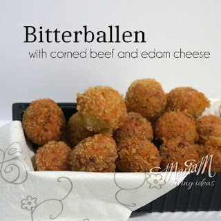 Bitterballen With Corned Beef And Edam Cheese.
