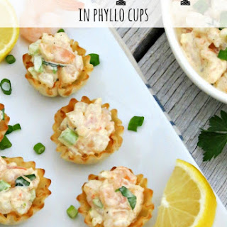 Cold Shrimp Dip in Phyllo Cups.