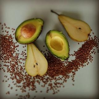 Avocado Pear Smoothie.