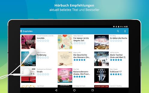 Audioteka: Hörbücher & Hörspiele to go Screenshot