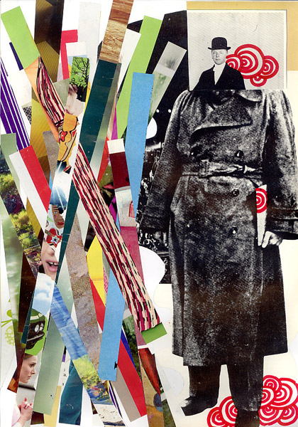 Photo: Claudio Parentela's Pop Art Collages and Paintings