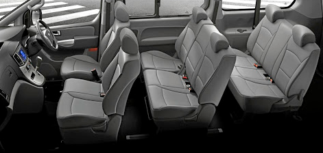 The interior continues to provide space for nine although eight fit more comfortably. Picture: QUICKPIC