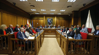 Pleno de la anterior corporación, celebrado el pasado mayo, en el que se aprobó el gasto para ejecutar el plan.