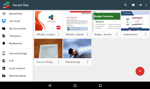 OfficeSuite 8 Pro + PDF- screenshot thumbnail