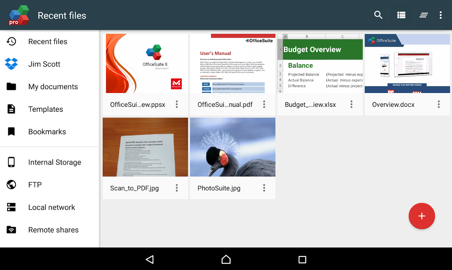 OfficeSuite 8 Pro + PDF- screenshot