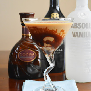The Ultimate Chocolate Martini.