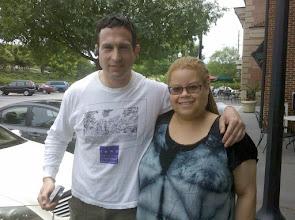 Photo: With Daniel Blatt of GayPatriot.net.