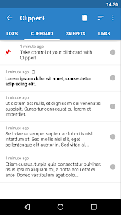 Clipper Plus: Clipboard Manager 1