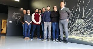 El equipo  de Augury Simulations.
