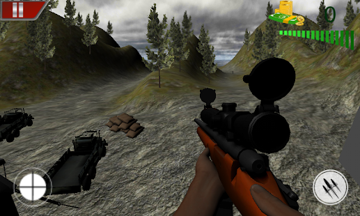 Real Commando Base Attack screenshot
