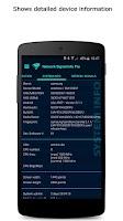 Screenshot of Network Signal Info