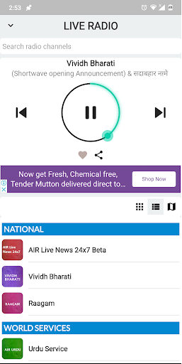NewsOnAir: Prasar Bharati Official App News+Live 30 Screenshots 3
