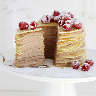Milk Chocolate Crêpe Cake