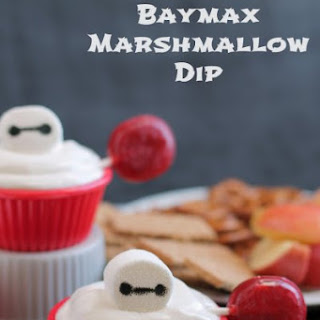 Baymax Marshmallow Dip.