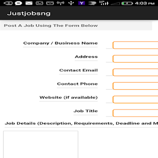Justjobsng- screenshot thumbnail