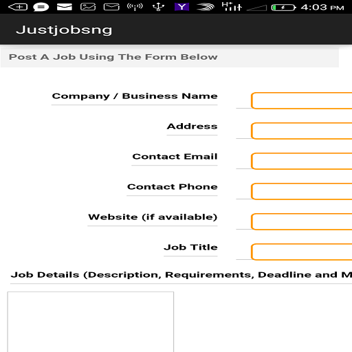 Justjobsng- screenshot