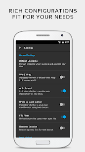 QuickEdit Text Editor Pro Apk [Paid/Patcher] 1.7.1 b154 8