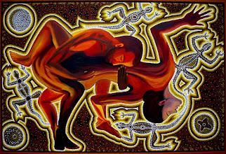 """Photo: """"Tiefes Vertrauen"""", 80 x 120 cm, 2010"""