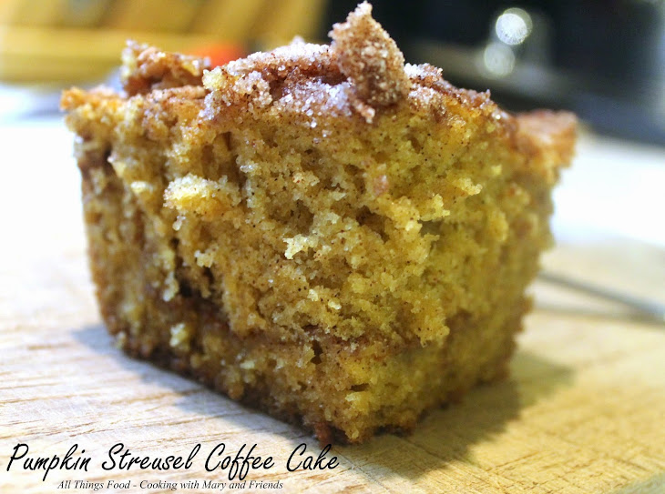 Pumpkin Streusel Coffee Cake Recipe | Yummly