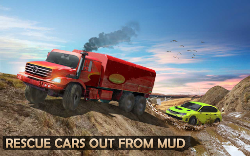 Extreme Offroad Mud Truck Simulator 6x6 Spin Tires 2.4 screenshots 9