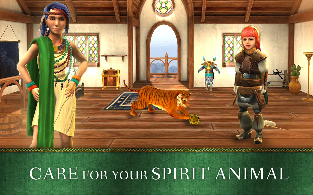 Spirit Animals- screenshot