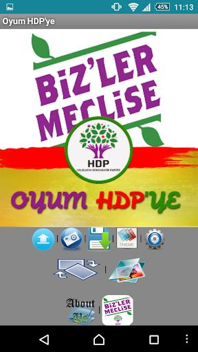 Oyum HDP'ye