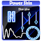 Blue glow Poweramp Skin file APK for Gaming PC/PS3/PS4 Smart TV
