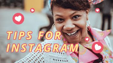 Tips for Instagram - YouTube Thumbnail Template