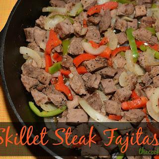 Skillet Steak Fajitas