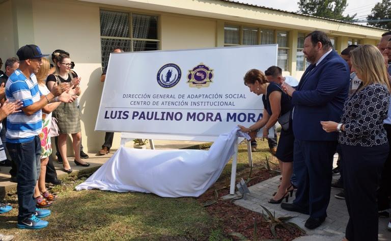 Imagen CÁRCEL LLEVARÁ EL NOMBRE DE LUIS PAULINO MORA MORA POR DEFENDER LOS DERECHOS HUMANOS