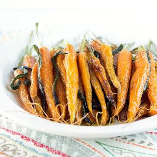 Maple Glazed Poblano Carrots