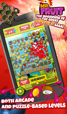 Match 3 - Mr. Fruit 1.0.58 screenshot 583260