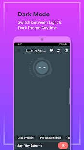 Extreme- Personal Voice Assistant Screenshot