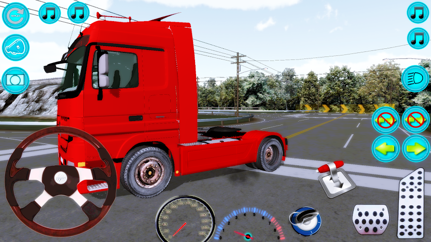 android Actros Truck Simlation Real ! Screenshot 4