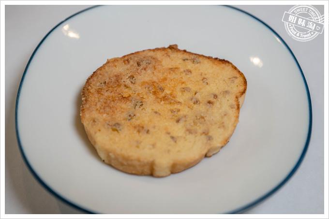 母堂鐵板燒蒜蒜碎麵包