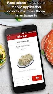 Menu.ge — restaurant food delivery - náhled