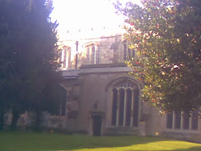 Photo: Winter Sun on the South side of St Marys church.