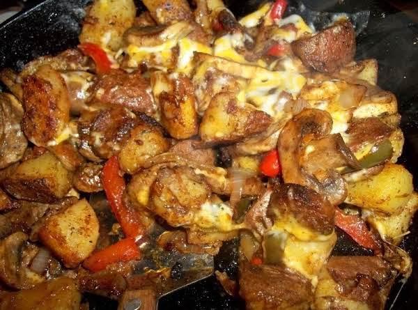 Comforting Potato & Chorizo Skillet