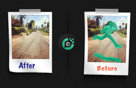 ازالة اي شيء من الصور دون تشويهها – touch-retouch 3