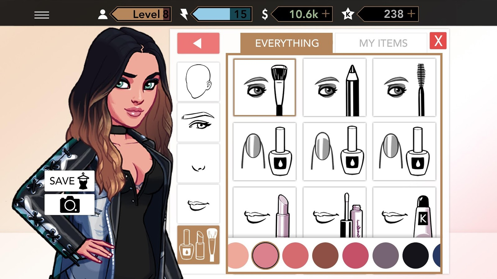 KIM KARDASHIAN: HOLLYWOOD: captura de pantalla