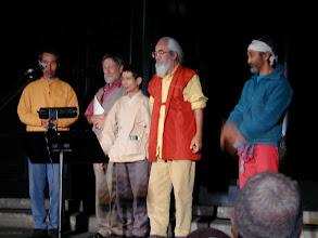 Photo: 2000年10月 ゲイリー・スナイダー来日ツアー(by Kuma) 左からナーガ、ゲイリー、三省、ナナオ、ボブ