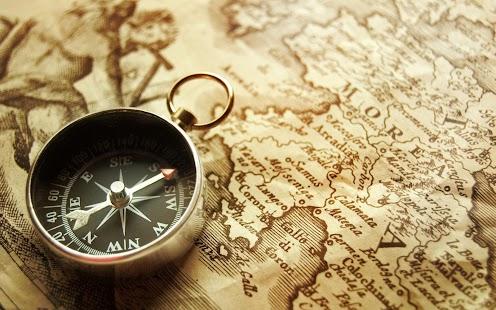 Digital Compass Map - náhled