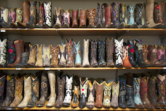 Photo: Billings: boots, boots, boots!