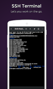 Codeanywhere - IDE, Code Editor, SSH, FTP, HTML - náhled