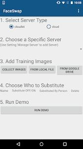 FaceSwap screenshot 0