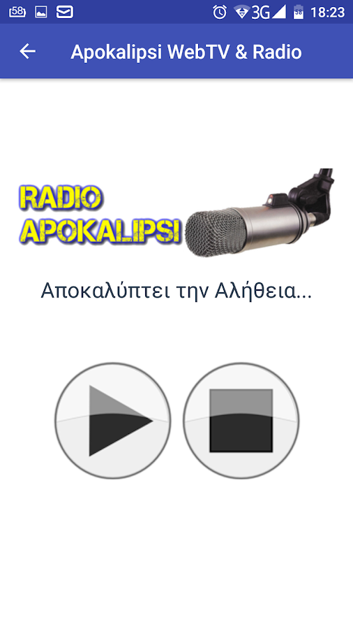 Apokalipsi WebTV & Radio- screenshot