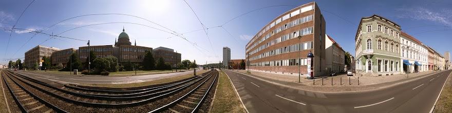 Photo: Germany, Potsdam, Acht-Ecken-Platz