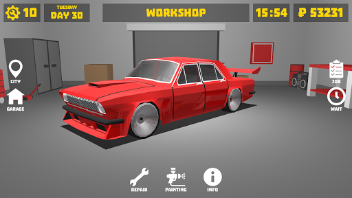 Retro Garage - Car Mechanic Simulator 1.6.2 screenshots 1